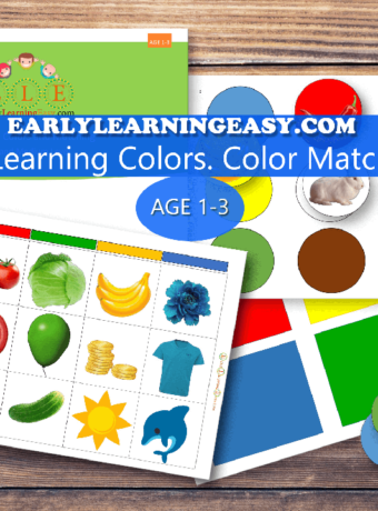 Learning Colors and Match-Add-low