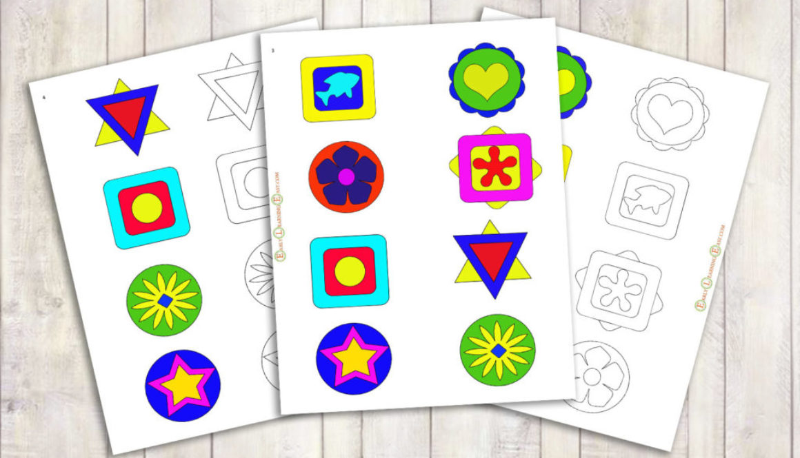Mandala-Shape ColorMemory-Add2