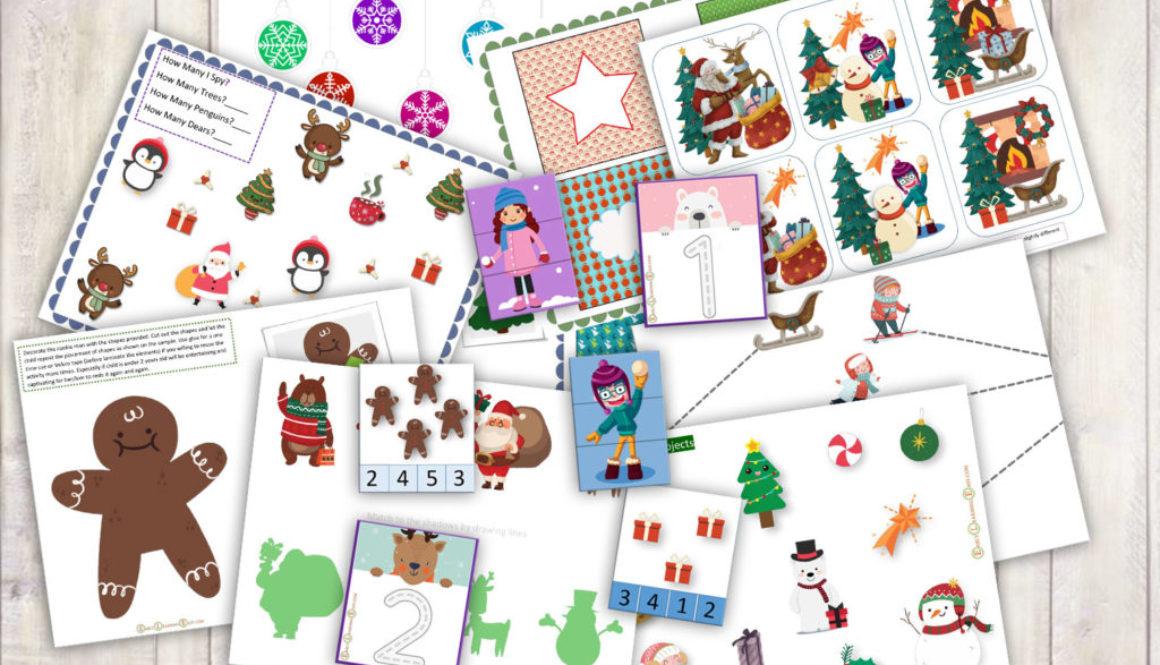 Winter-Activities Set