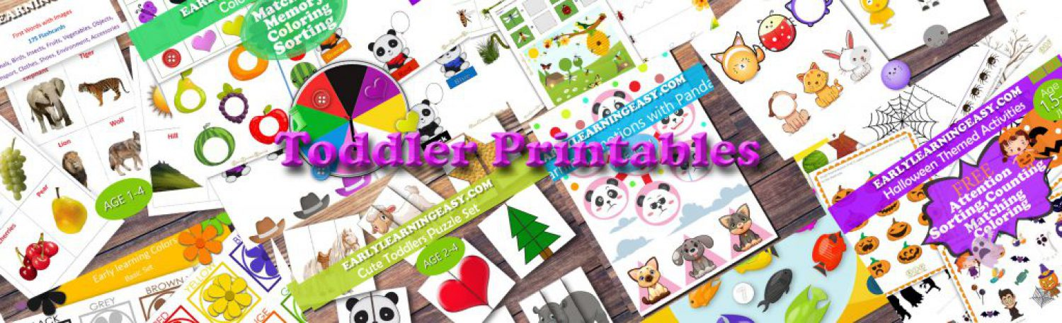 toddlers printable resources
