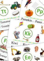 Alphabet Visual Vocabulary 2