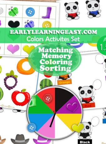 Colors-Activities Set
