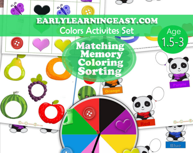 Colors-Activities Set
