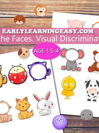 FInd the Faces VisualDiscrimin-Add