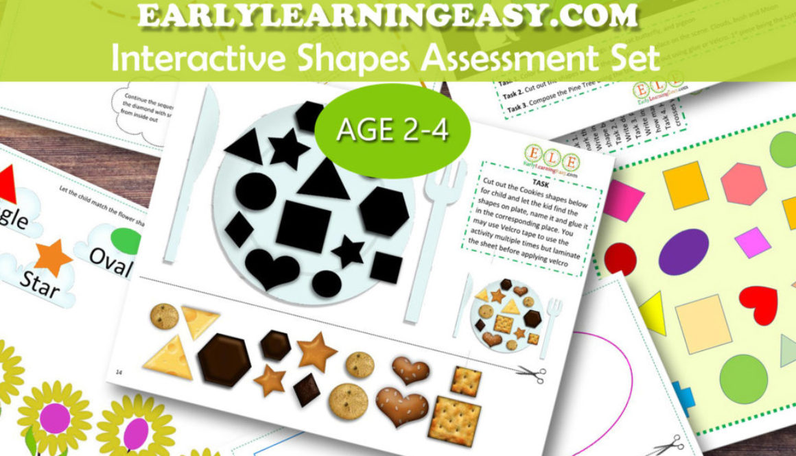 Interactive Shapes Assessment Set