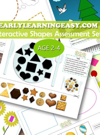 Interactive Shapes Assessment Set
