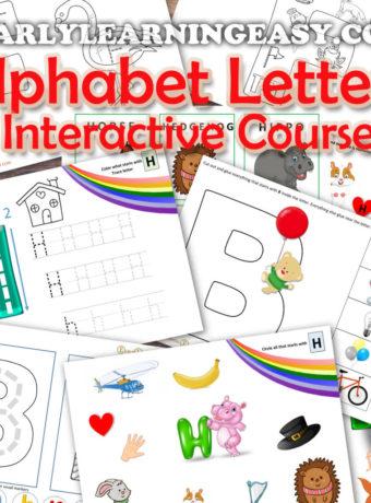 Alphabet Letter Course