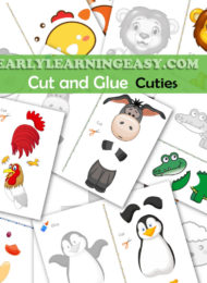 Cut and Glue Cuties