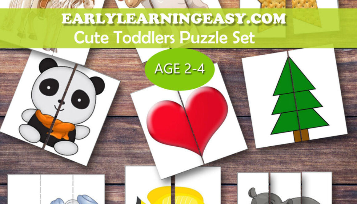 Cute Toddlers Puzzle Set-Add