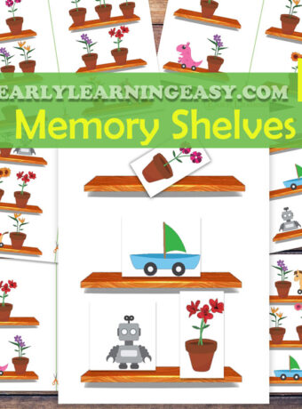 Memory training for toddlers